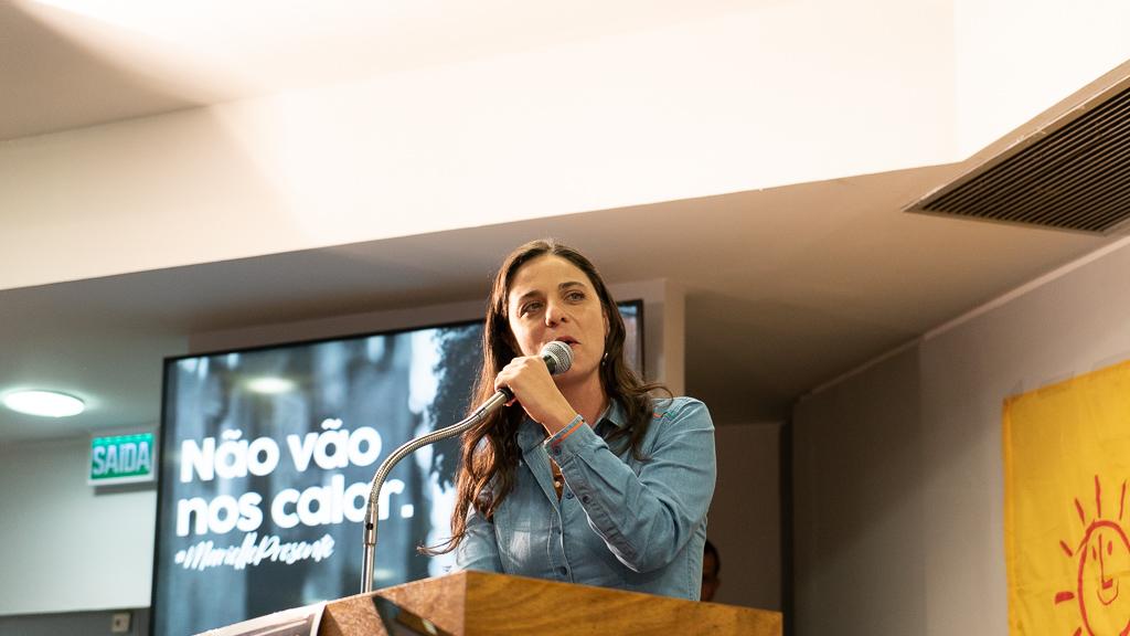 Fernanda Melchionna é pré-candidata a Deputada Federal pelo PSOL