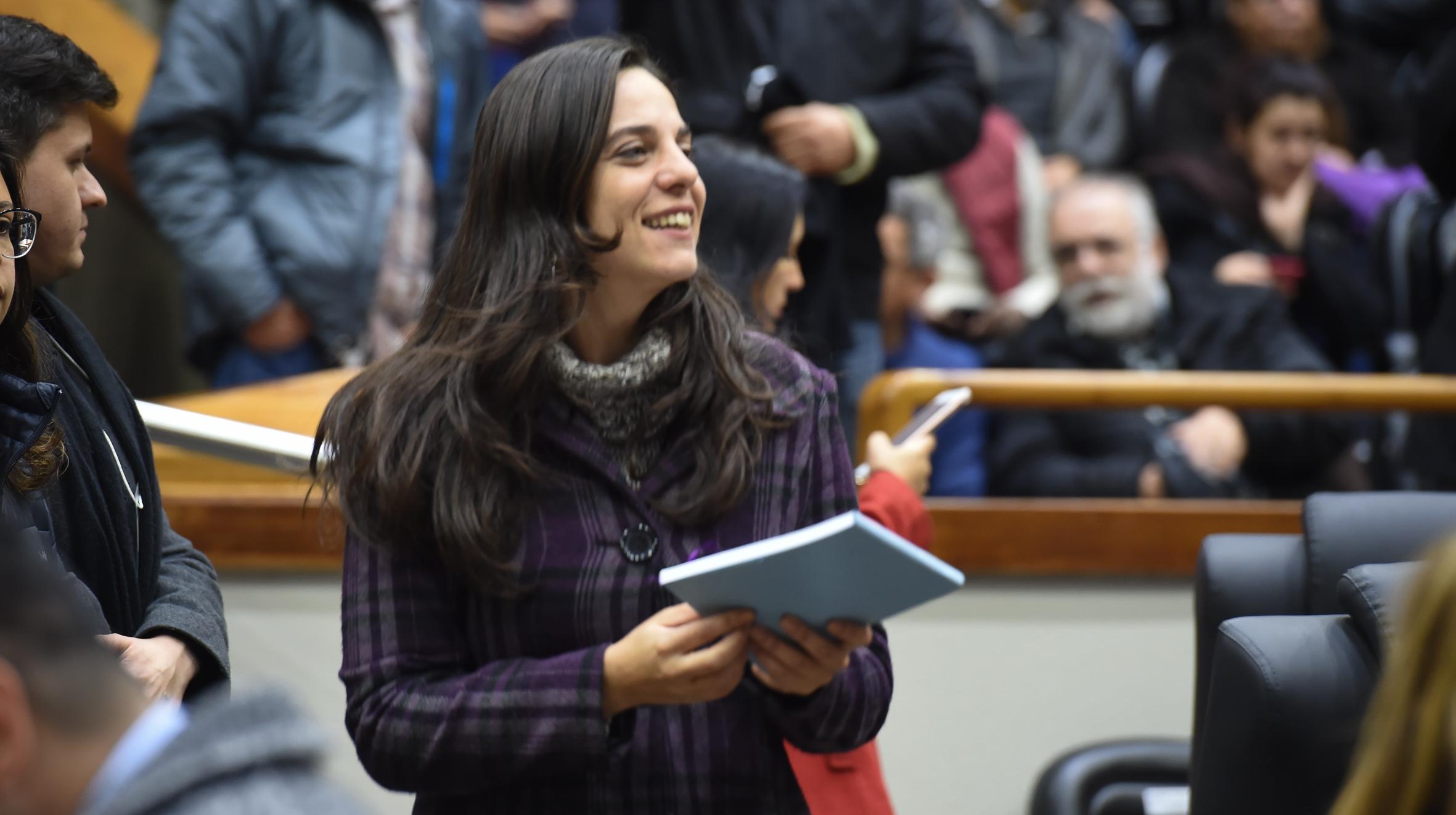 Fernanda Melchionna assume a Procuradoria da Mulher da Câmara
