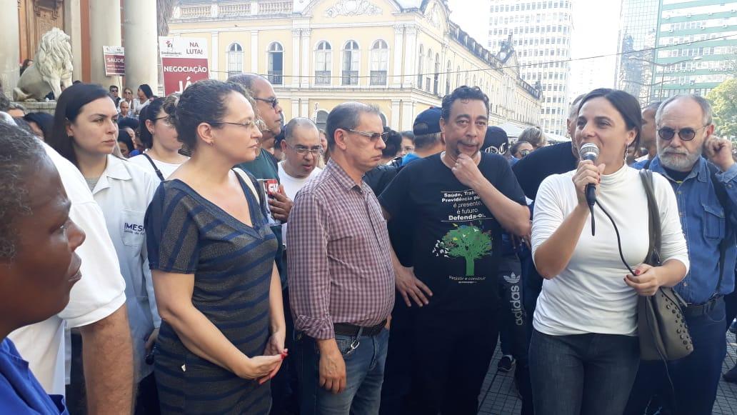 Todo apoio à paralisação dos trabalhadores do Imesf!