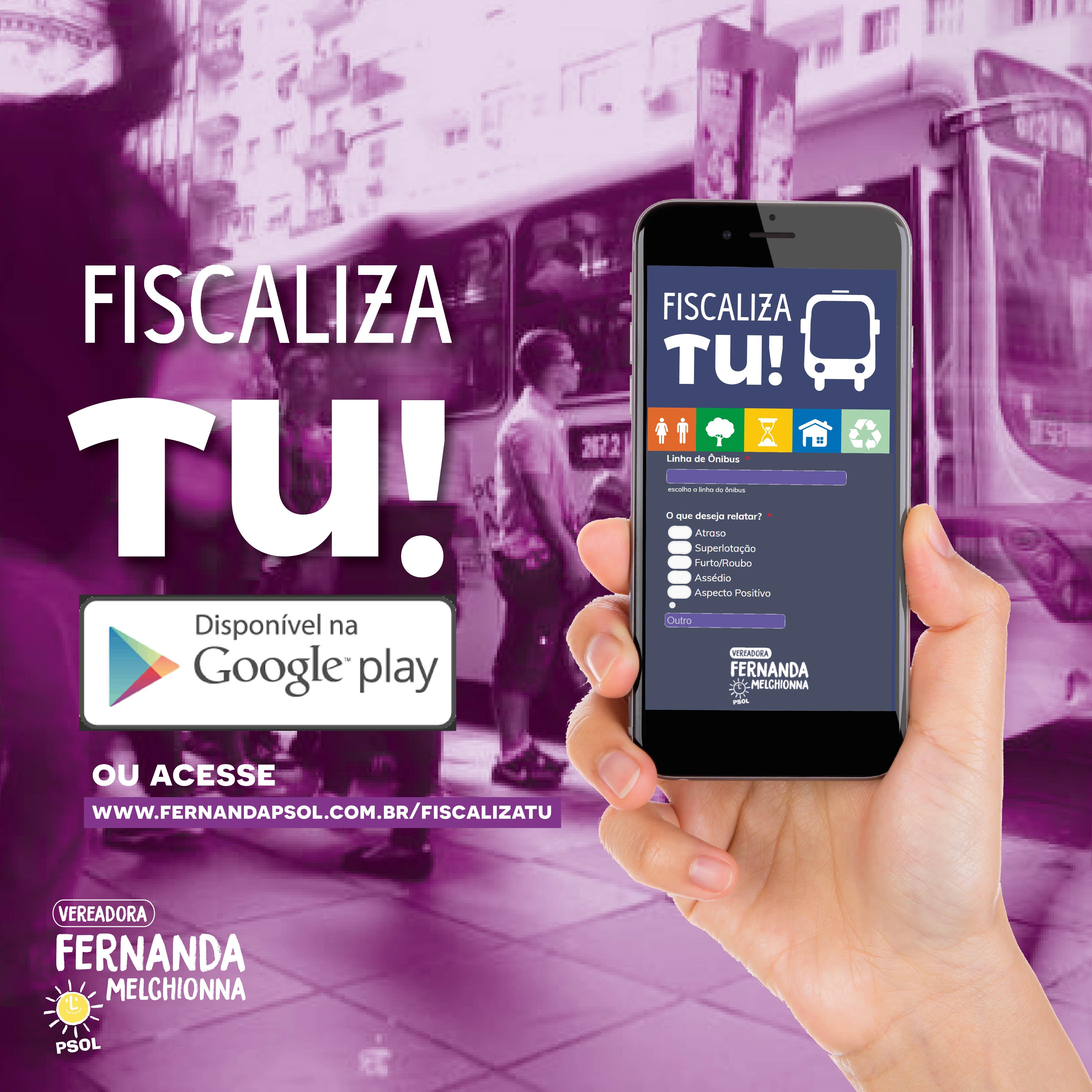 Estatística semestral do aplicativo Fiscaliza Tu será apresentada em coletiva de imprensa