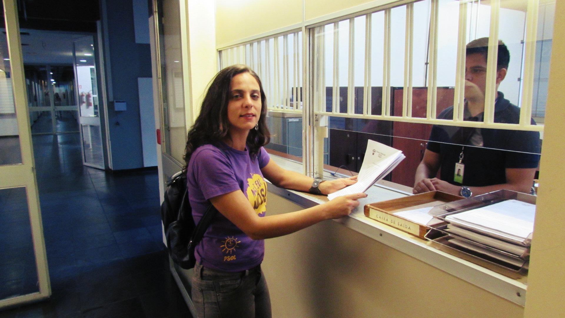 Vereadora Fernanda Melchionna (PSOL) apresenta pacote de projetos em defesa das mulheres