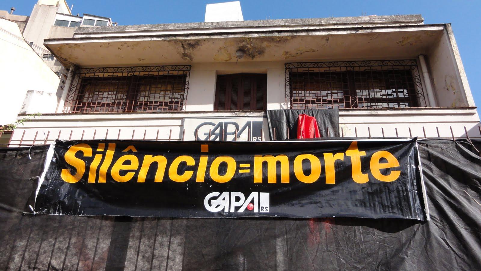 Na Capital da AIDS, o despejo do Gapa é o símbolo do descaso à epidemia!