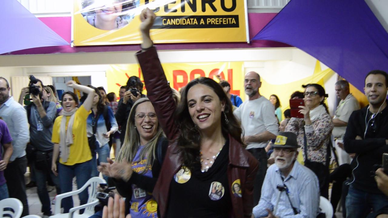 Fernanda Melchionna é a candidata a vereadora mais votada em Porto Alegre