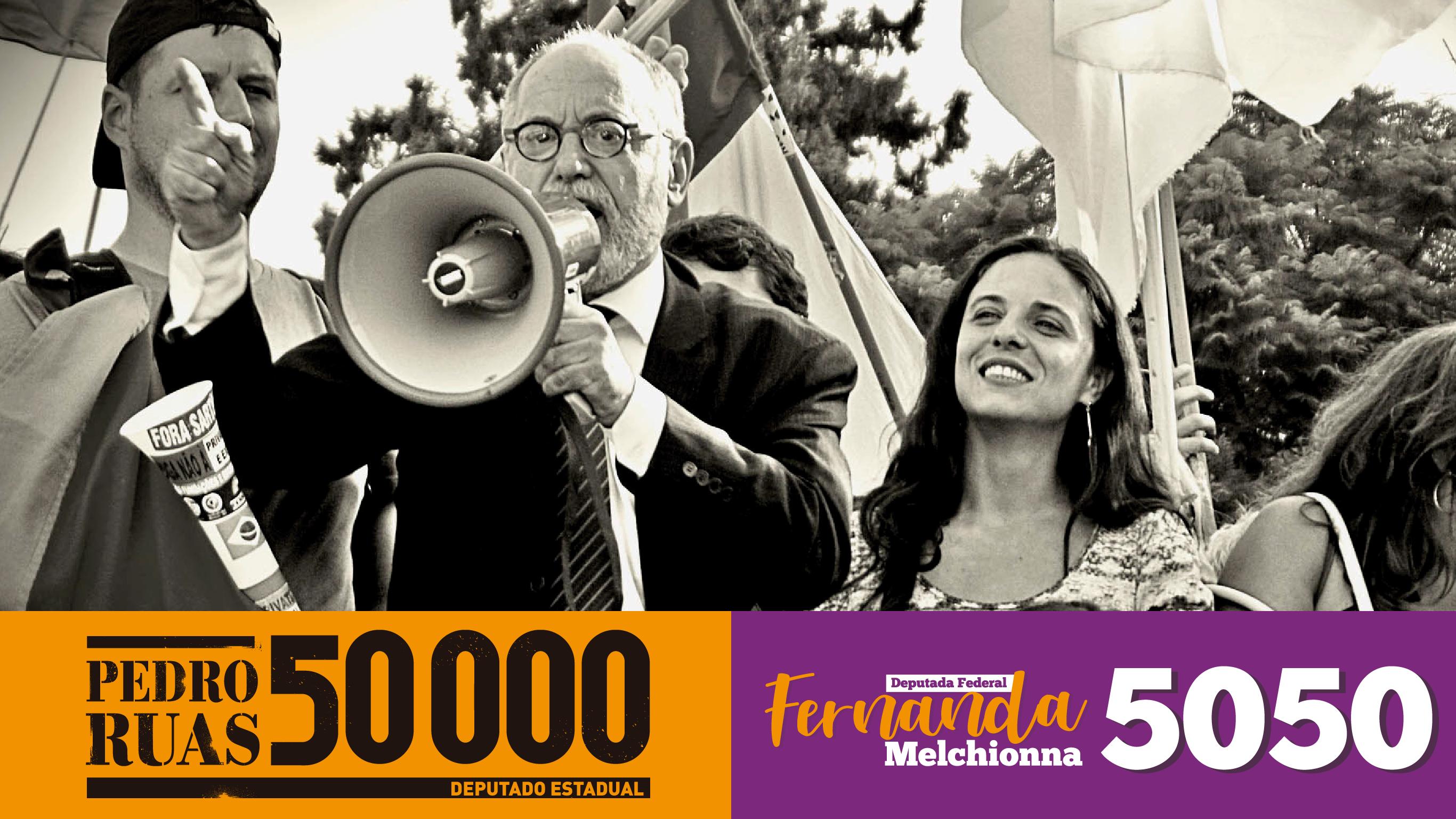 Fernanda e Ruas: agora dá pra votar nos dois!