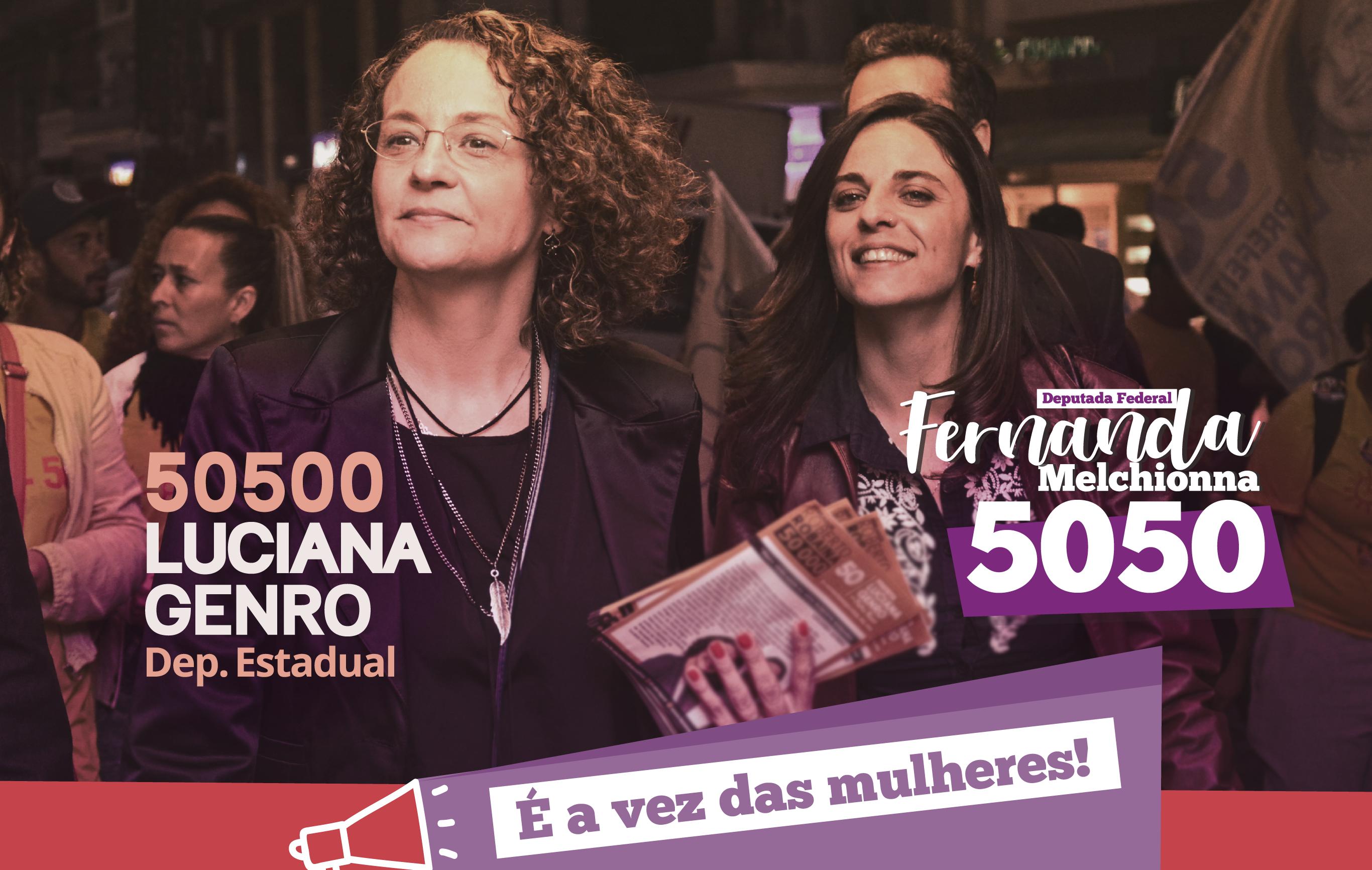 Fernanda e Luciana: é a vez das mulheres!