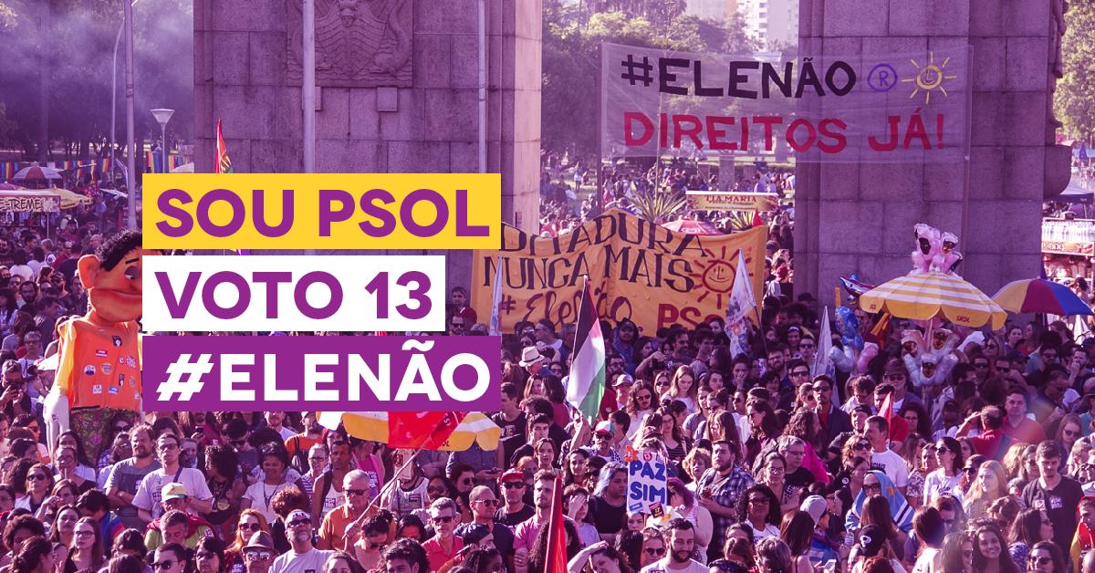 28 de outubro é dia de derrotar Bolsonaro nas urnas! Vote 13!