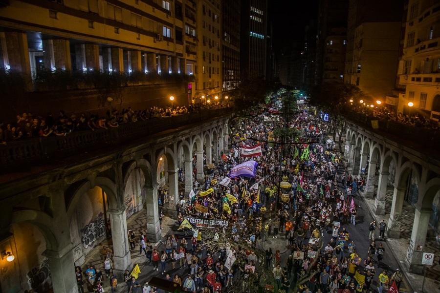 Greve geral mostra a força dos trabalhadores nas ruas contra a Reforma da Previdência