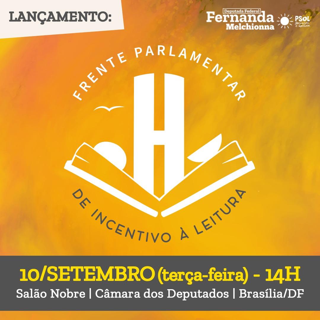 Dep. Fernanda lança Frente Parlamentar de Incentivo à Leitura em Setembro
