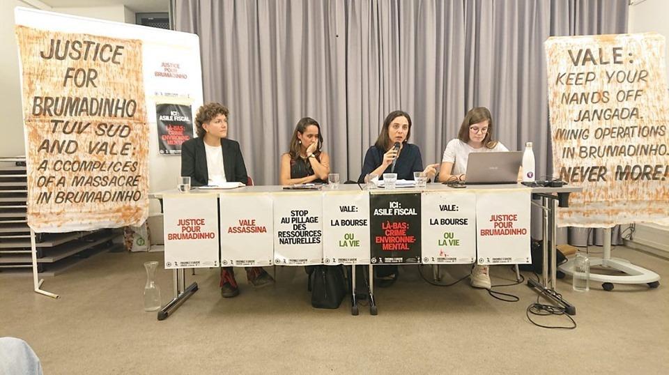 Em Genebra, deputada Melchionna cobra responsabilização por crimes em Mariana e Brumadinho