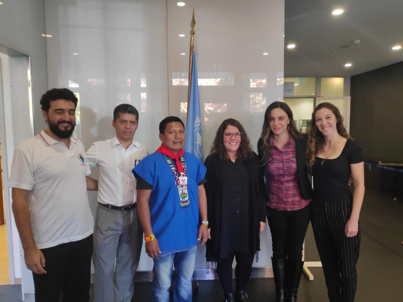 Em Genebra, deputada Fernanda repudia criminalização de movimentos sociais e perseguição a ativistas no Equador