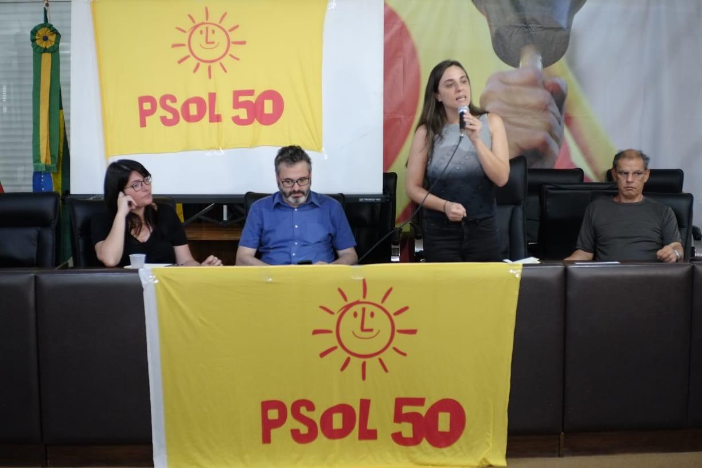 PSOL começa construção do programa de governo da pré-candidatura de Fernanda Melchionna para prefeitura de POA