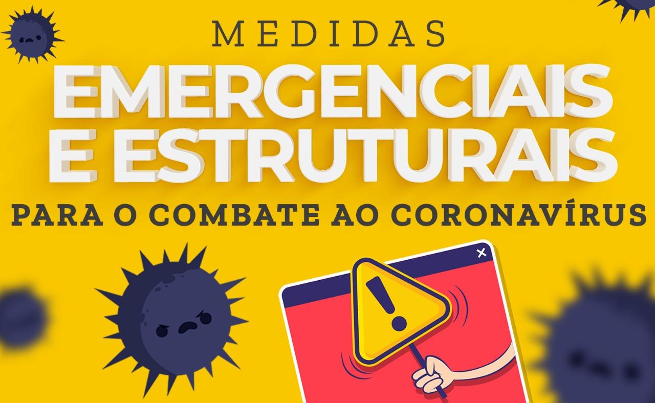 Fernanda defende medidas emergenciais para conter o coronavírus