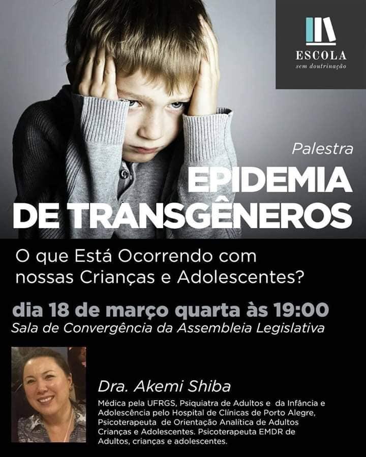 Deputada Fernanda assina representação da deputada Luciana Genro ao Ministério Público de denúncia do evento transfóbico da ALRS