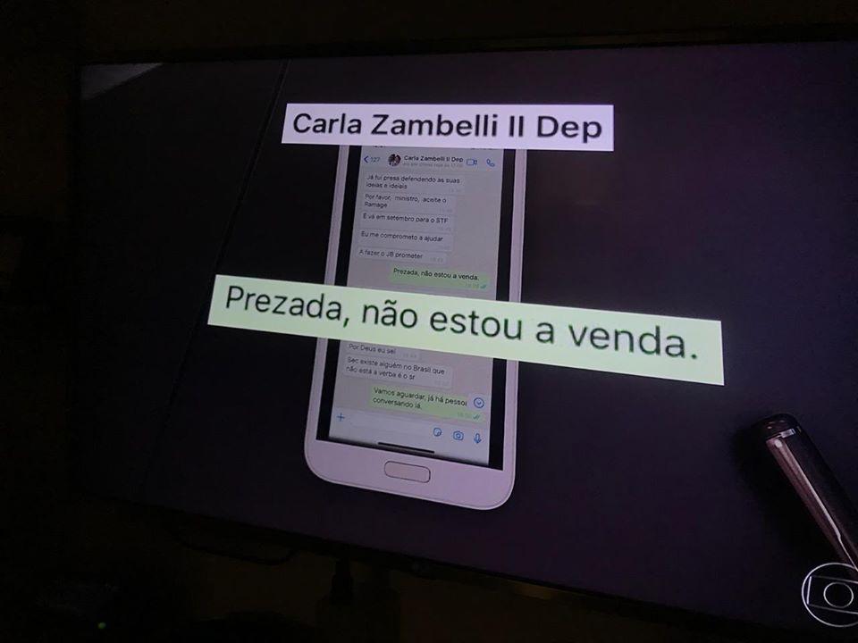 Fernanda e bancada do PSOL pedem cassação da Deputada bolsonarista Carla Zambelli