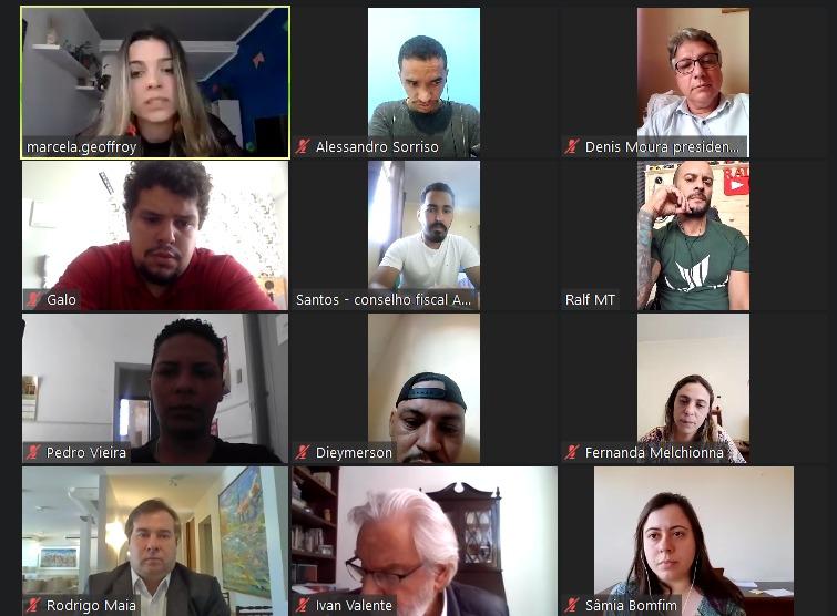 Entregadores de aplicativo conquistam compromisso de Maia em mobilizar o legislativo para garantir direitos