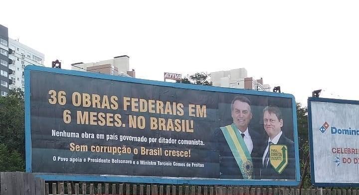 Fernanda questiona  veracidade de propaganda sobre obras concluídas do governo Bolsonaro