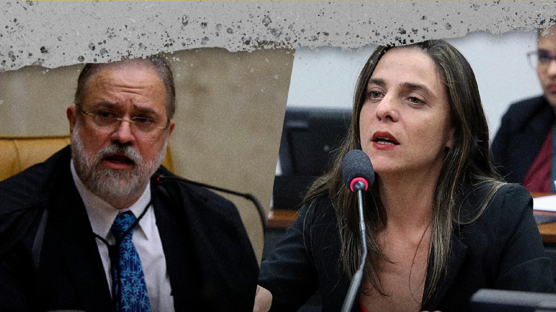 Deputada Fernanda quer que a Câmara convide Aras para esclarecer fala sobre 'antessala do estado de defesa'