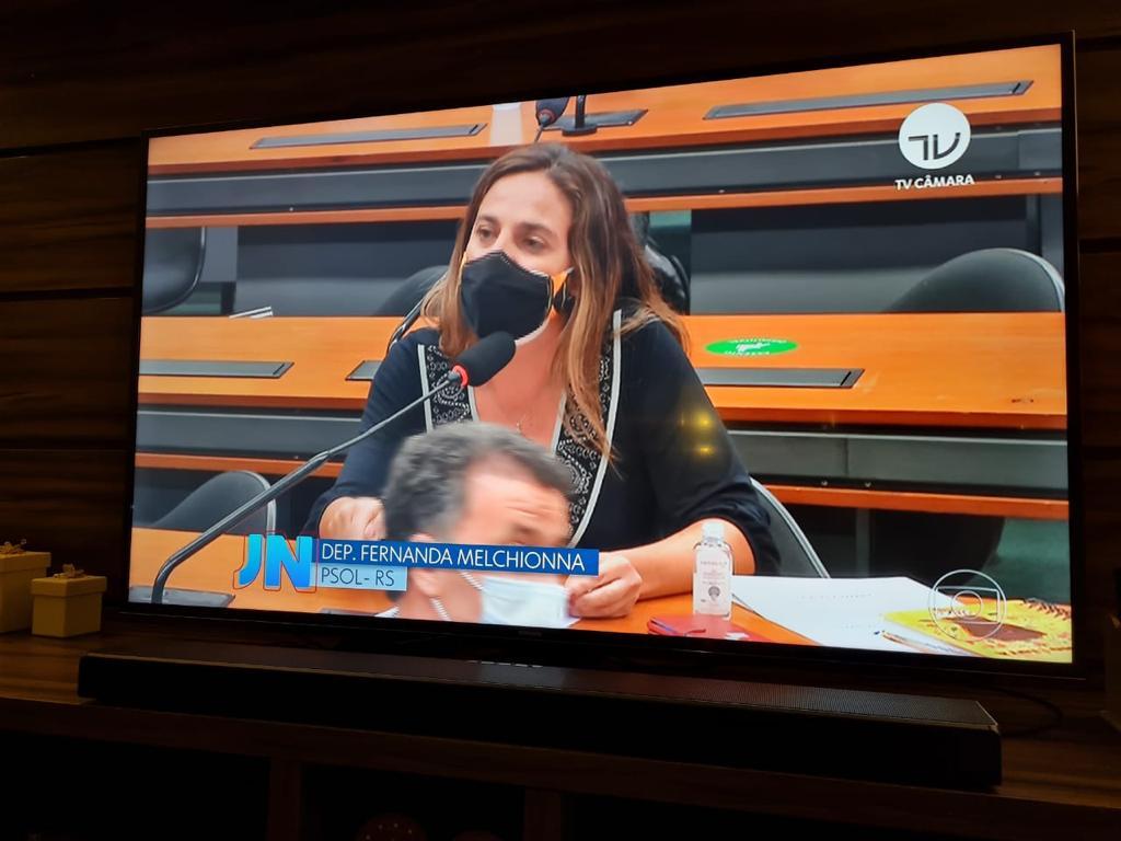 Deputada Fernanda Melchionna (PSOL/RS) vai recorrer do resultado da eleição na CCJ