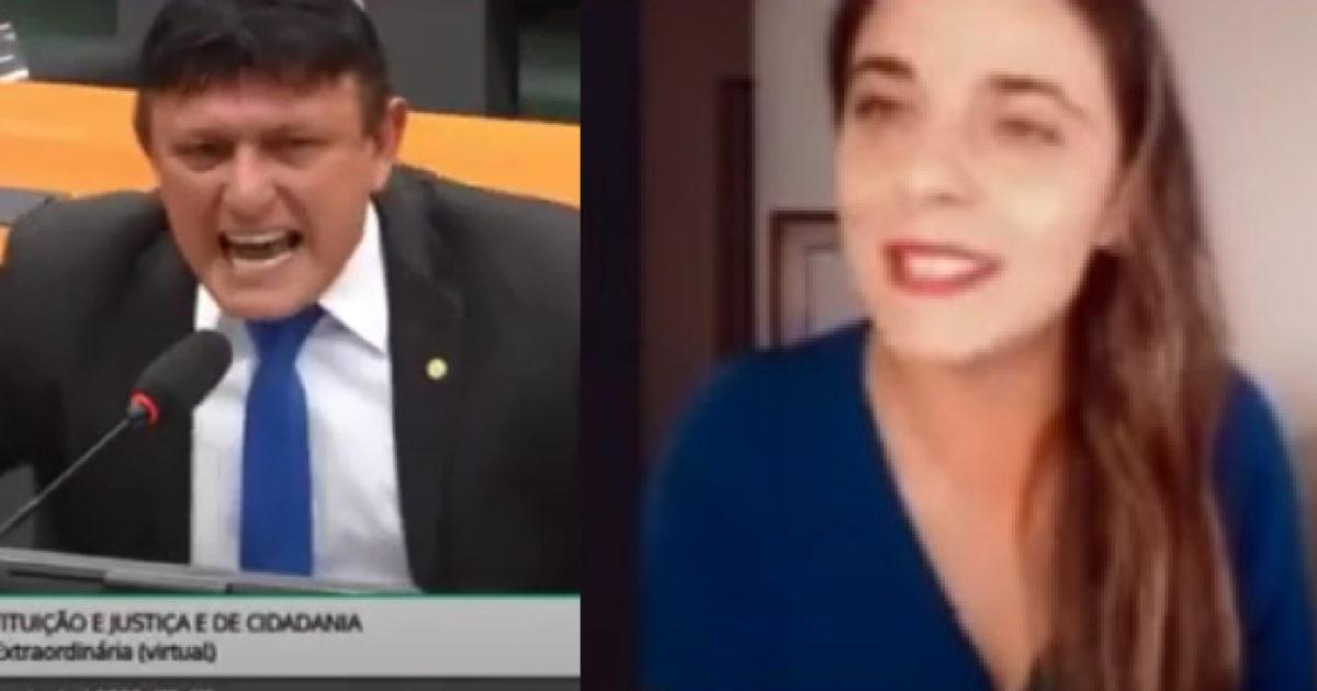 Deputada Fernanda Melchionna quer Conselho de Ética para Éder Mauro por ameaças contra deputadas