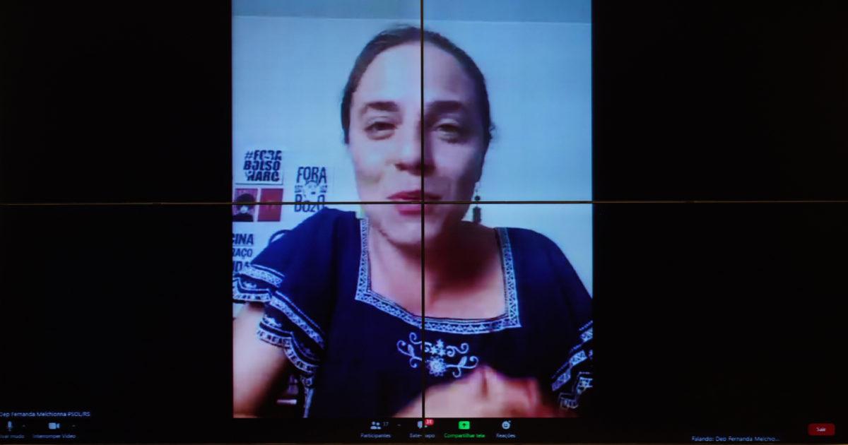 Deputada Fernanda Melchionna pede vistas em contrariedade à PEC do voto impresso obrigatório