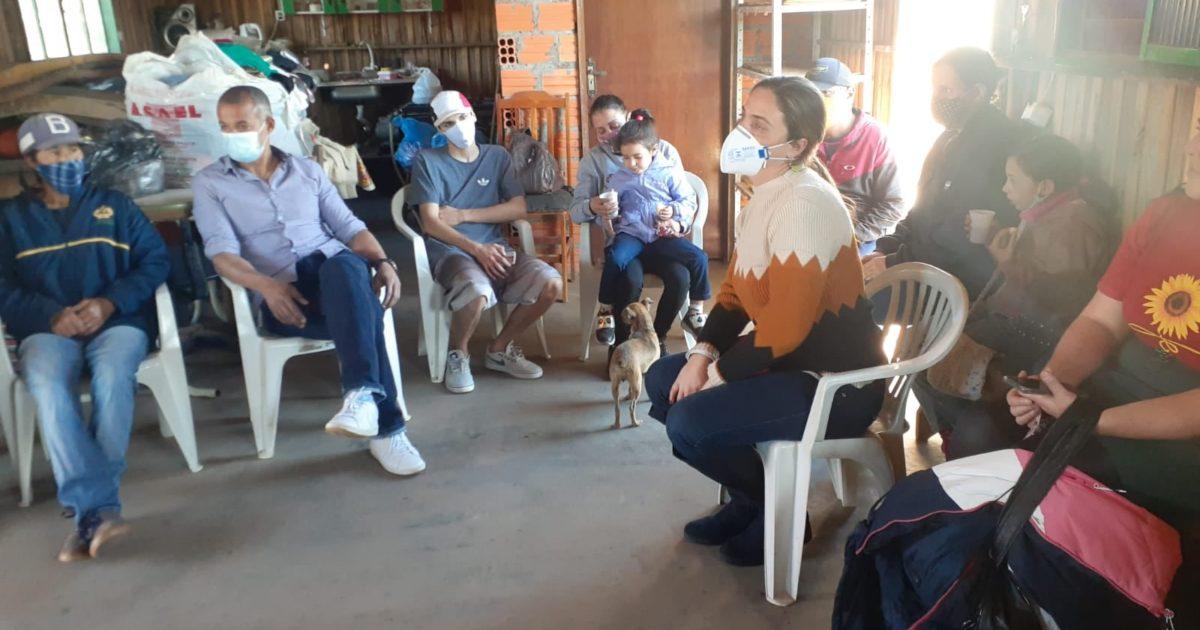 Deputada Fernanda Melchionna destina R$ 500 mil para regularização de ocupação em Sapucaia do Sul